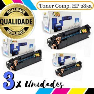 03 Toner Compatível HP 285a / 435a / 436a