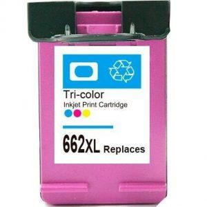 Cartucho Compatível HP 662 XL Color
