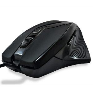 Mouse Gamer USB MS-26 Preto 800/1200/1600/2400 DPI