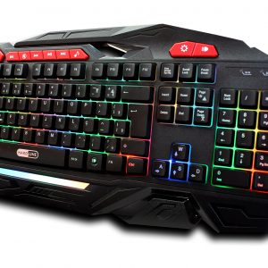 Teclado Gamer Shadow Hunter – Hardline – Com 15 Macros