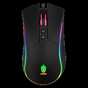 Mouse Gamer Skadi LED RGB 4800 Dpi – Evolut